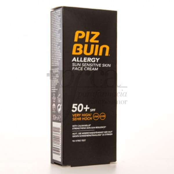 PIZ BUIN ALLERGY SPF50 CREMA FACIAL 50ML